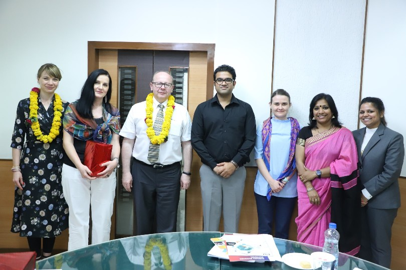 Delegates from Wroclaw University of Science & Technology, Poland visited PU