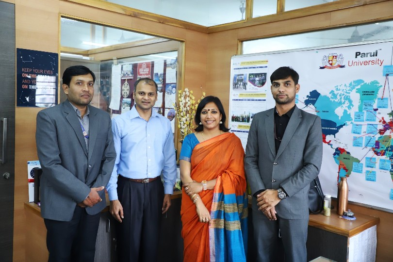 Delegates from Western Illinois University, United States of America visited Parul University