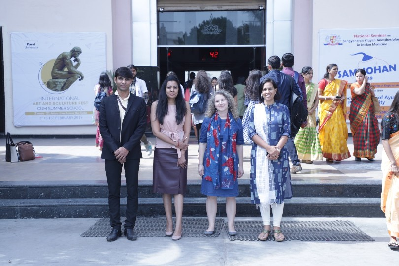 Delegates from University of Wisconsin-Milwaukee, USA visited Parul University