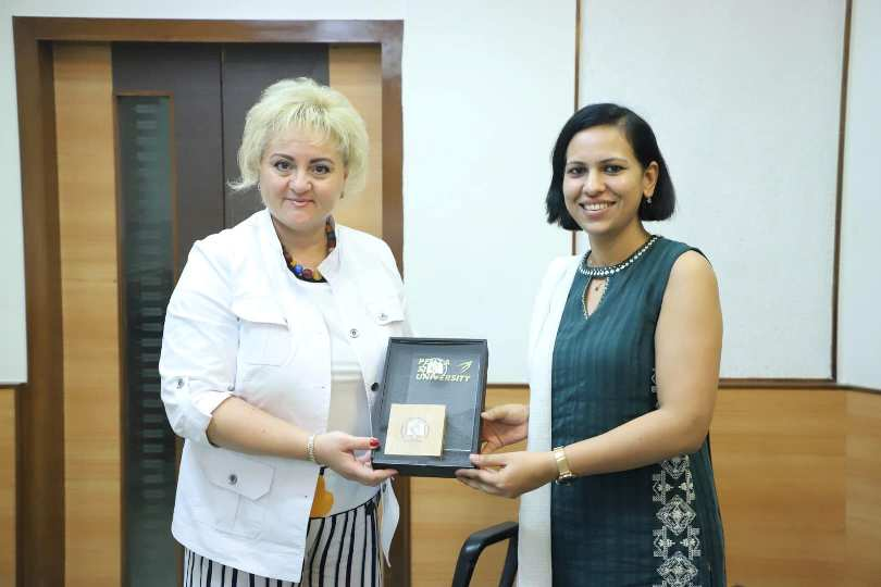 Delegates from Penza State University, Russia paid visit to Parul University