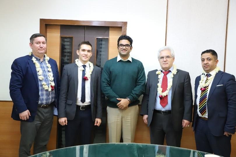 Visit of Russian Professors at Parul University