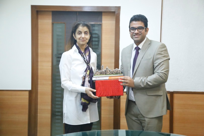 Visit of Ms. Rani Dhaliwal – Senior Vice President, Planning and Corporate Services & CFO, Humber Institute of Technology & Advanced Learning, Canada