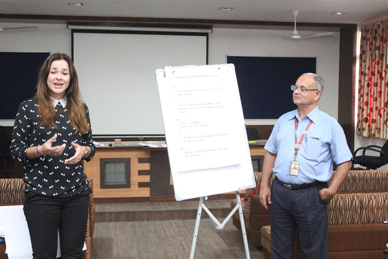 Train-the-Trainer Program conducted by CABCIN