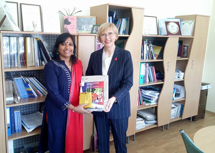 Dr Preeti Nair visited Vilnius University of Applied Sciences, Lithuania, Europe