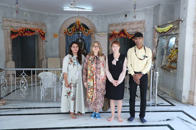Expert lectures addressed by Russian Professors at Parul University