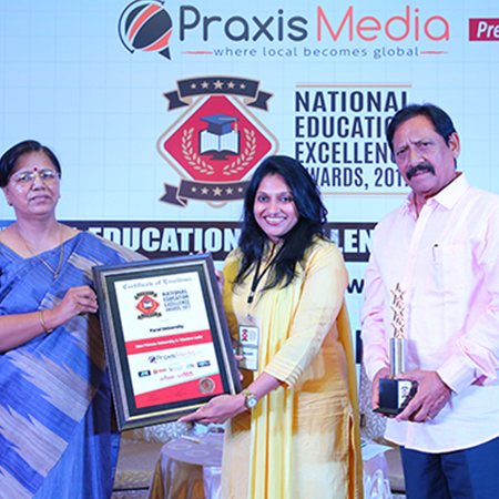 Ranked amongst the Top 50 private Universities in India