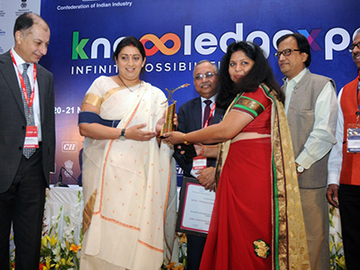 Best Industry Linked Engineering College of India - 2014