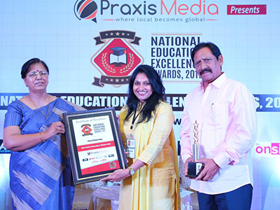 Best Private University in Western India Award - 2017
